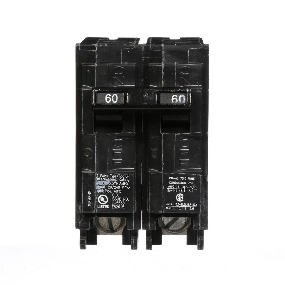 hight resolution of siemens 60 amp double pole type qp circuit breaker