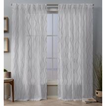 Exclusive Home Curtains Belfast 54 In. X 96 L Sheer