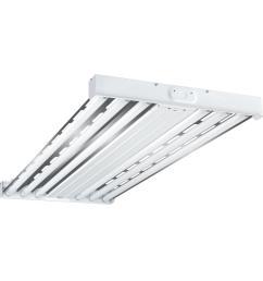 metalux 4 light 2 ft x 4 ft white high output fluorescent high [ 1000 x 1000 Pixel ]