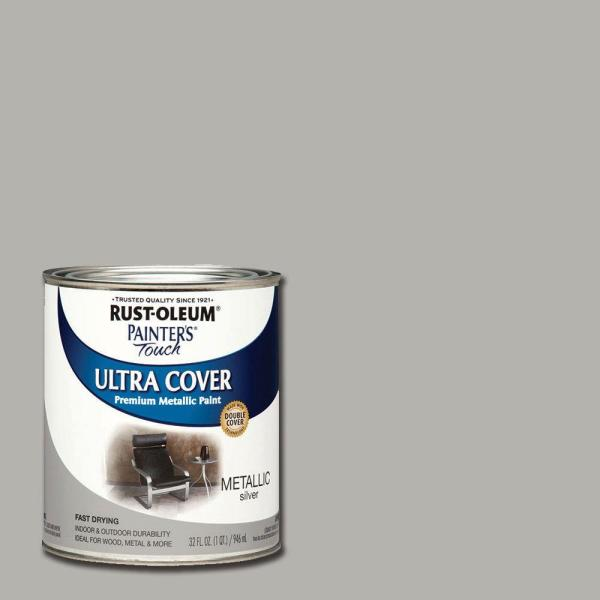 Rust-Oleum Painter's Touch 32 oz. Ultra Cover Metallic ...
