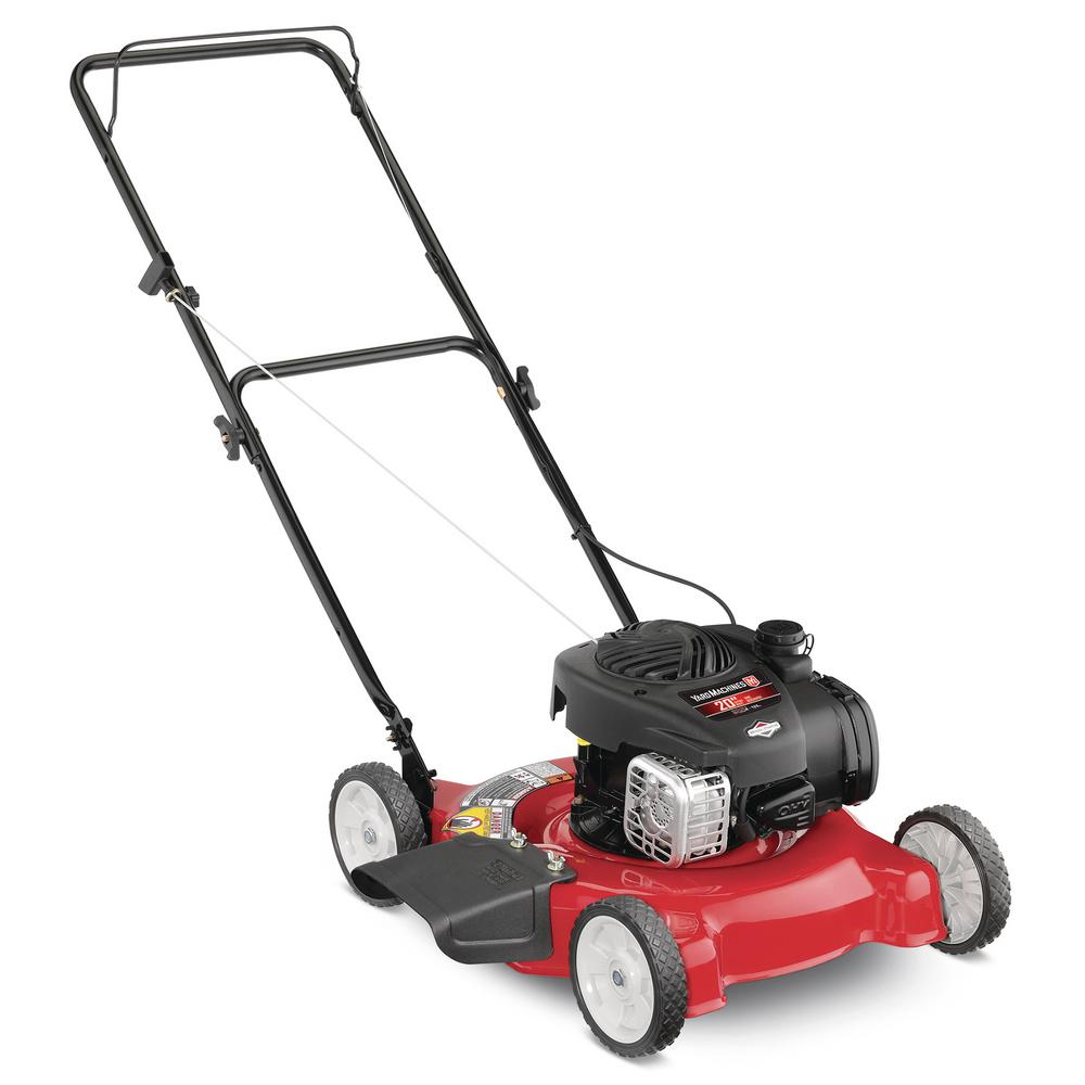 medium resolution of yard machines 20 in 125 cc ohv briggs and stratton gas walk behind mtd yard machine lawn tractor 20 5 hp starting wiring