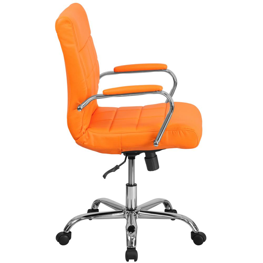 Orange Office Chairs Flash Furniture Orange Office Desk Chair Go2240org The Home Depot