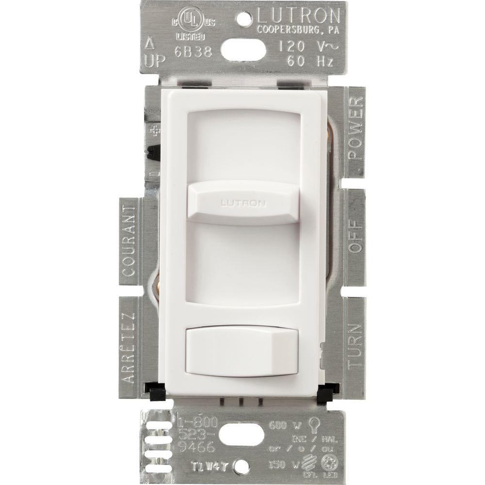 hight resolution of lutron skylark contour 150 watt single pole 3 way cfl led dimmer