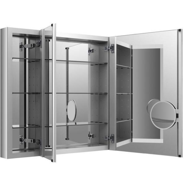 Kohler Verdera 40 In. X 30 Recessed Medicine Cabinet In Anodized Aluminum-99011-na
