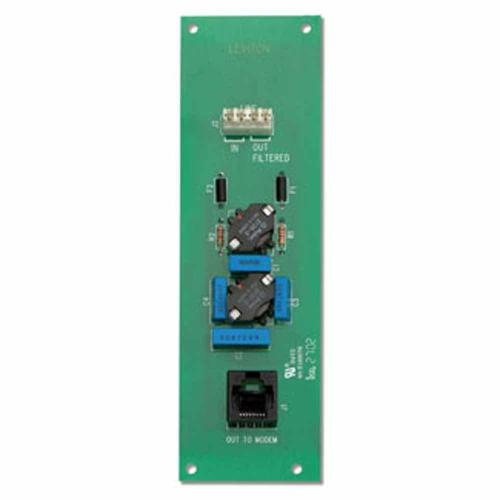 small resolution of leviton dsl filter board fits easily into structured media centers gray
