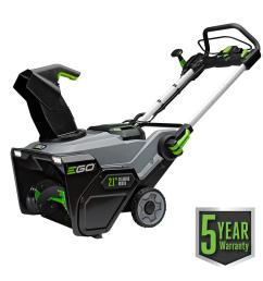 21 in 56 volt lithium ion single stage cordless electric snow blower with 2 7 5ah batteries and charger included [ 1000 x 1000 Pixel ]