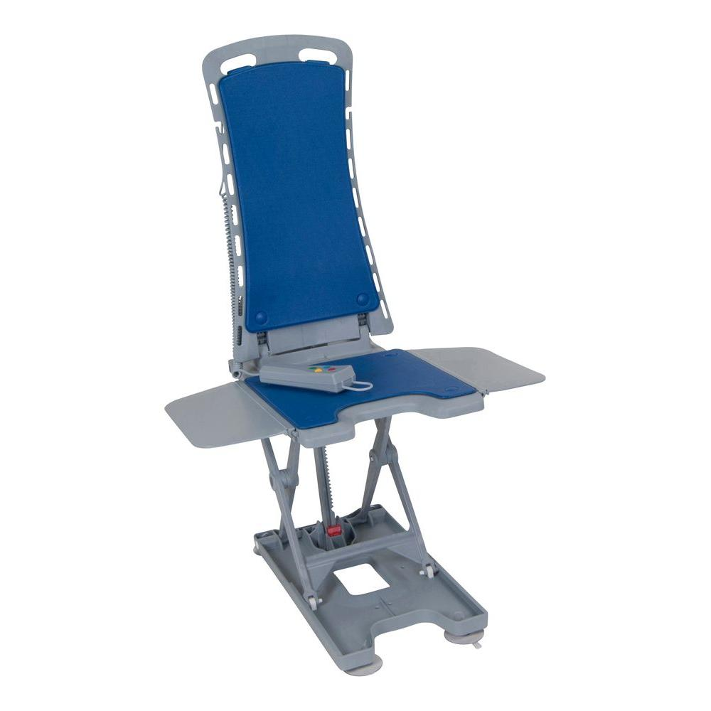 Bath Chair Lift Drive Whisper Ultra Quiet Bath Lift In Blue