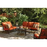 Thomasville Messina 4-Piece Patio Sectional Seating Set ...