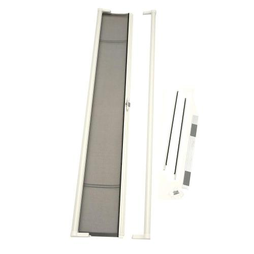 small resolution of 36 in x 96 in brisa white tall retractable screen door