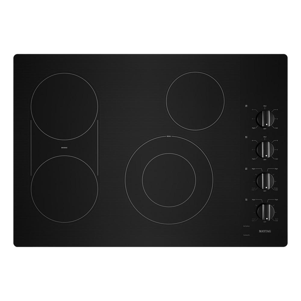 medium resolution of maytag 30 in radiant electric cooktop in black with 4 elements and maytag stove element wiring diagram