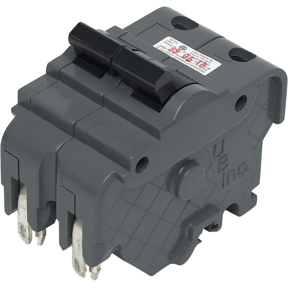 medium resolution of this review is from vpkubif thick 40 amp 2 in 2 pole federal pacific stab lok type na replacement circuit breaker