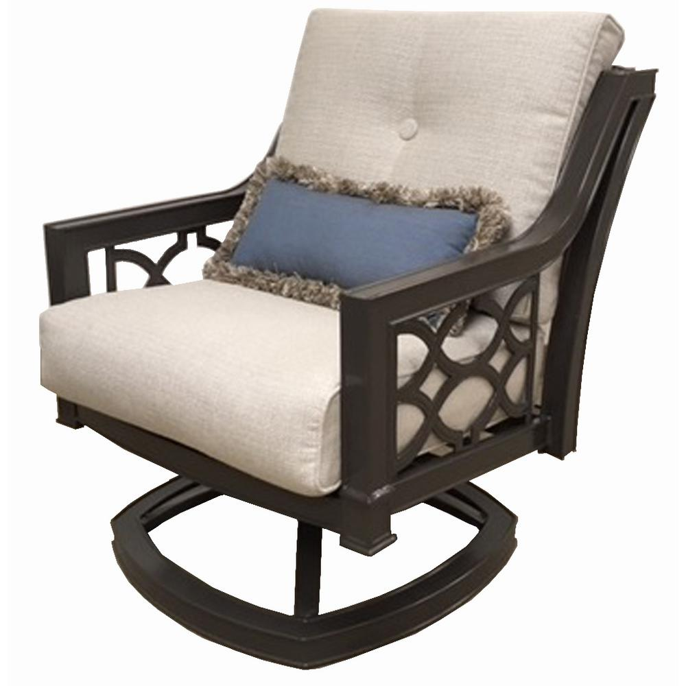 swivel lounge chairs steel ki chair home decorators collection richmond hill aluminum outdoor with hybrid smoke cushions 2