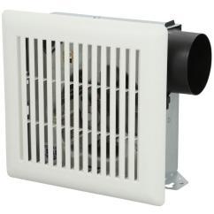 Kitchen Exhaust Fans Wall Mount Outdoor Accessories Nutone 50 Cfm Wall/ceiling Bath Fan-696n ...