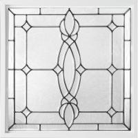 Hy-Lite 25 in. x 25 in. Decorative Glass Fixed Vinyl ...