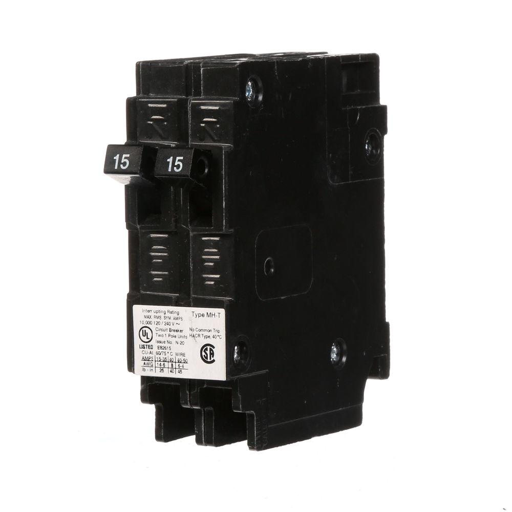 medium resolution of murray 15 amp tandem single pole type mh t ncl circuit breaker engineering diagram types type hacr e11592 wiring diagram
