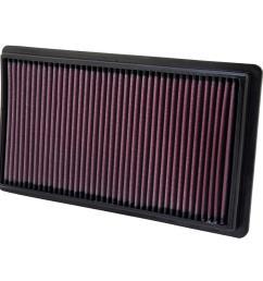 07 mazda cx 9 3 5l v6 drop in air filter [ 1000 x 1000 Pixel ]