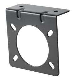 connector mounting bracket for 7 way uscar socket [ 1000 x 1000 Pixel ]