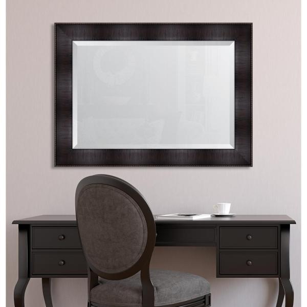 Melissa Van Hise 32 In. X 44 Framed 4 Espresso Resin Frame Mirror-mir3692436 - Home