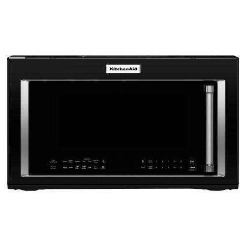 small resolution of kitchenaid 1 9 cu ft over the range convection microwave in black rh homedepot com kitchenaid microwave control panel wiring diagram