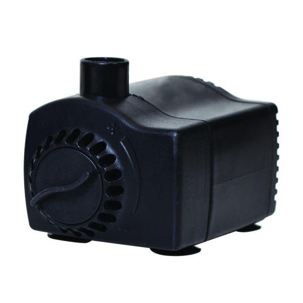Total Pond 170 Gph Water Shut- Fountain Pump-52299 - Home Depot