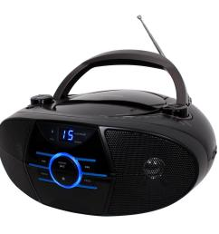 jensen cd 560 portable stereo cd player with am fm stereo radio and bluetooth [ 1000 x 1000 Pixel ]