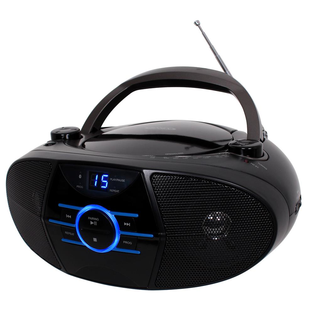 medium resolution of jensen cd 560 portable stereo cd player with am fm stereo radio and bluetooth