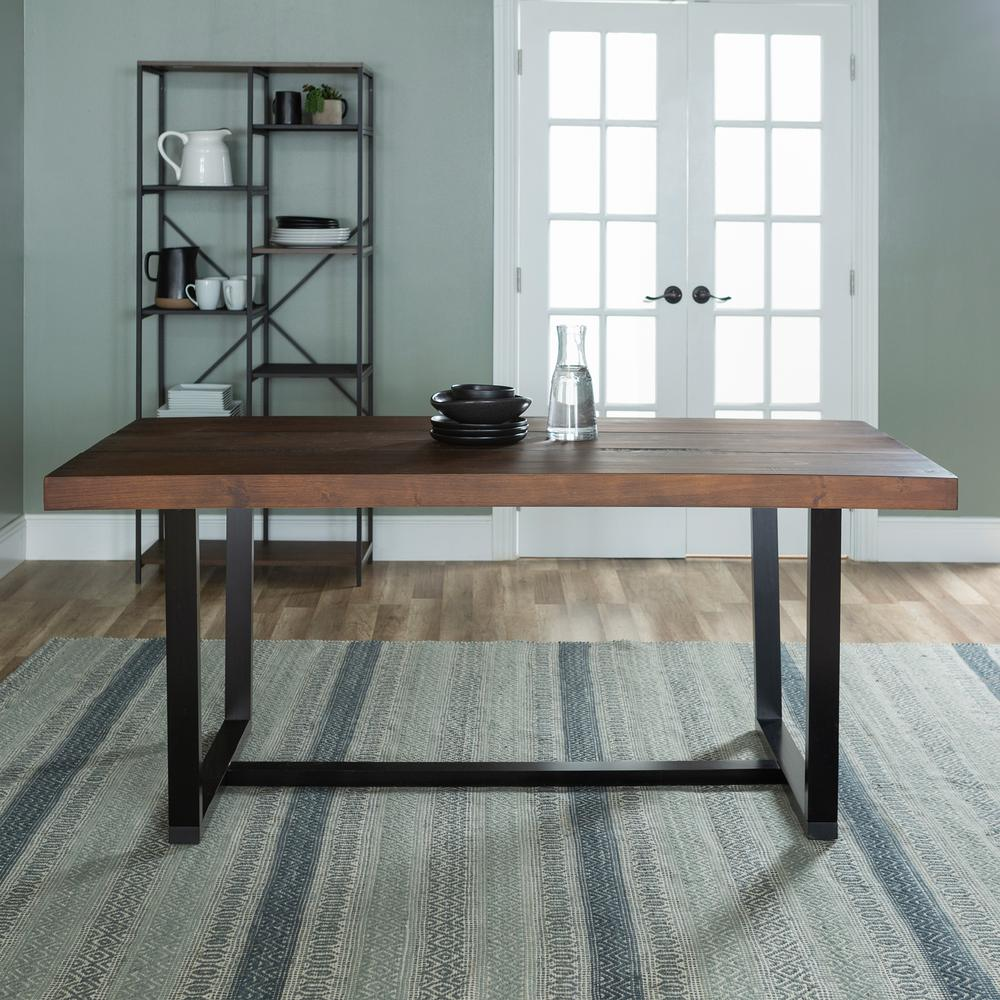 Farmhouse Kitchen Dining Tables Kitchen Dining Room Furniture The Home Depot