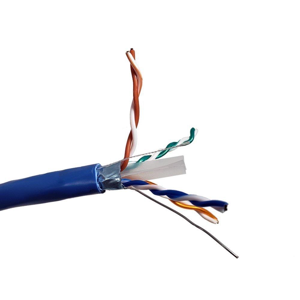 hight resolution of blue solid shielded stp cat6 bulk ethernet