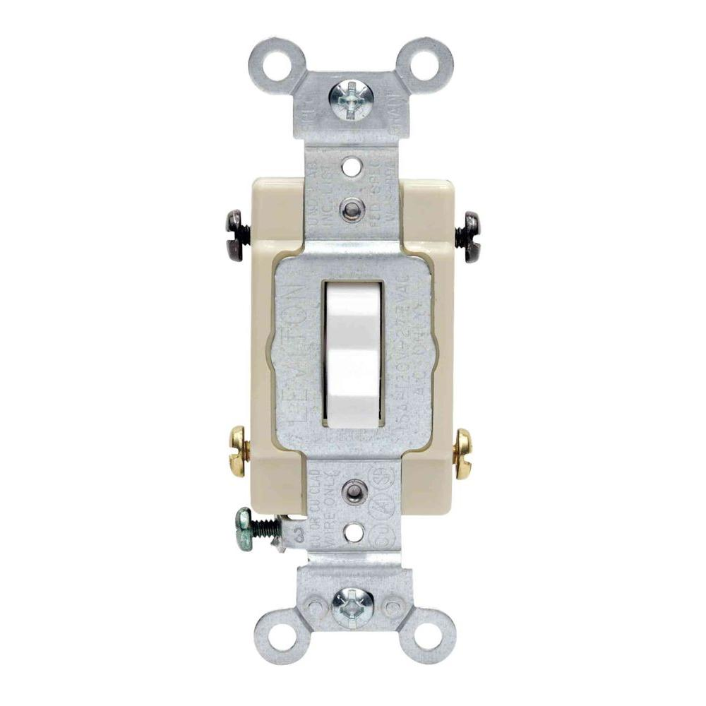 medium resolution of leviton 20 amp 4 way preferred toggle switch white