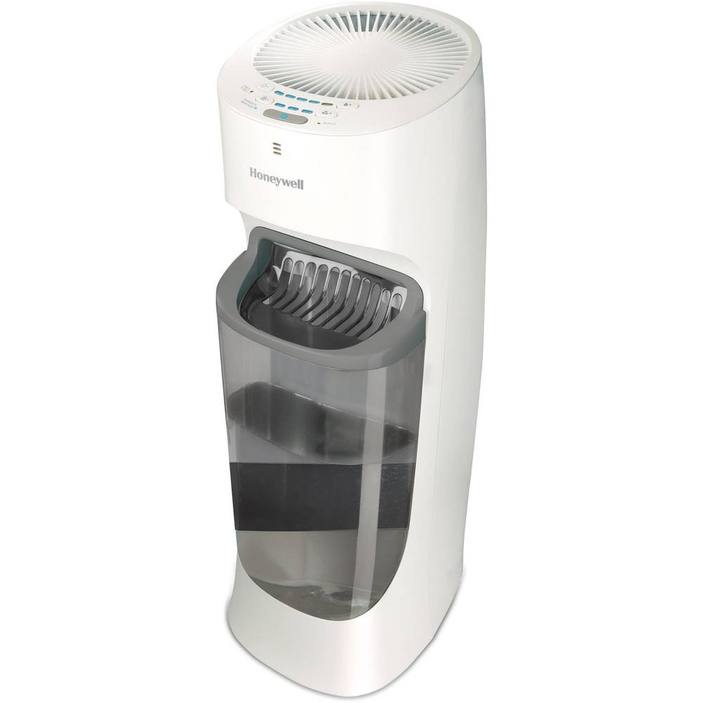 Kaz 1 50 Gal Cool Mist Top Fill Tower Humidifier Hev615w The Home Depot