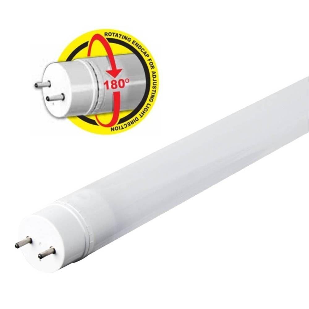 medium resolution of feit electric 4 ft t8 t12 17 watt cool white linear led light bulb t48 841 led rp the home depot