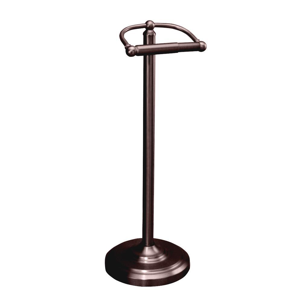 Gatco Freestanding Toilet Paper Holder in Bronze