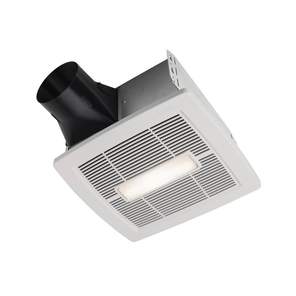 hight resolution of nutone invent series white 110 cfm ceiling installation bathroom exhaust fan with light and humidity sensing