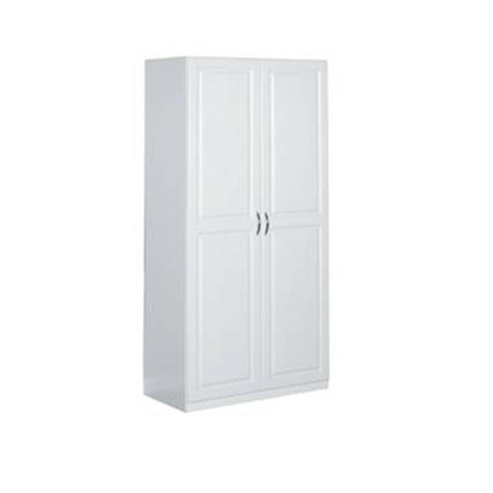 ClosetMaid 36 in Laminated 2Door Raised Panel Storage