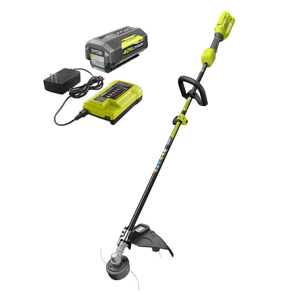 RYOBI 40-Volt Lithium-Ion Cordless Attachment Capable