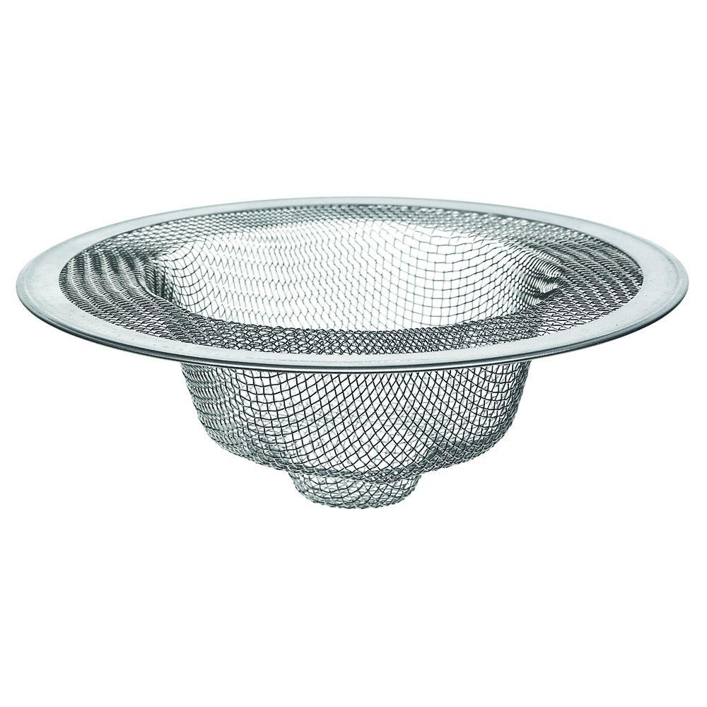 kitchen sink strainers refacing cabinets cost danco 4 1 2 in mesh strainer stainless steel 88822