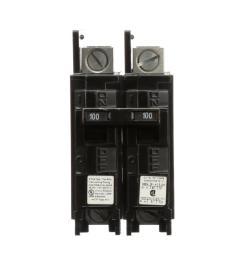 100 amp 2 pole type bqh 22 ka lug in lug out [ 1000 x 1000 Pixel ]