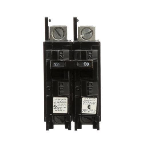 small resolution of siemens 100 amp 2 pole type bqh 22 ka lug in lug