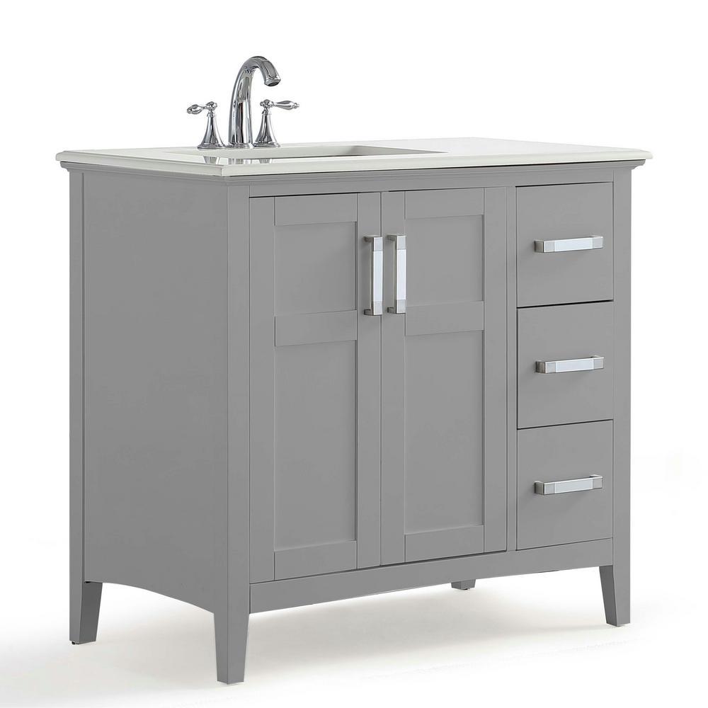 Bathroom Vanity Left Offset Sink Artcomcrea