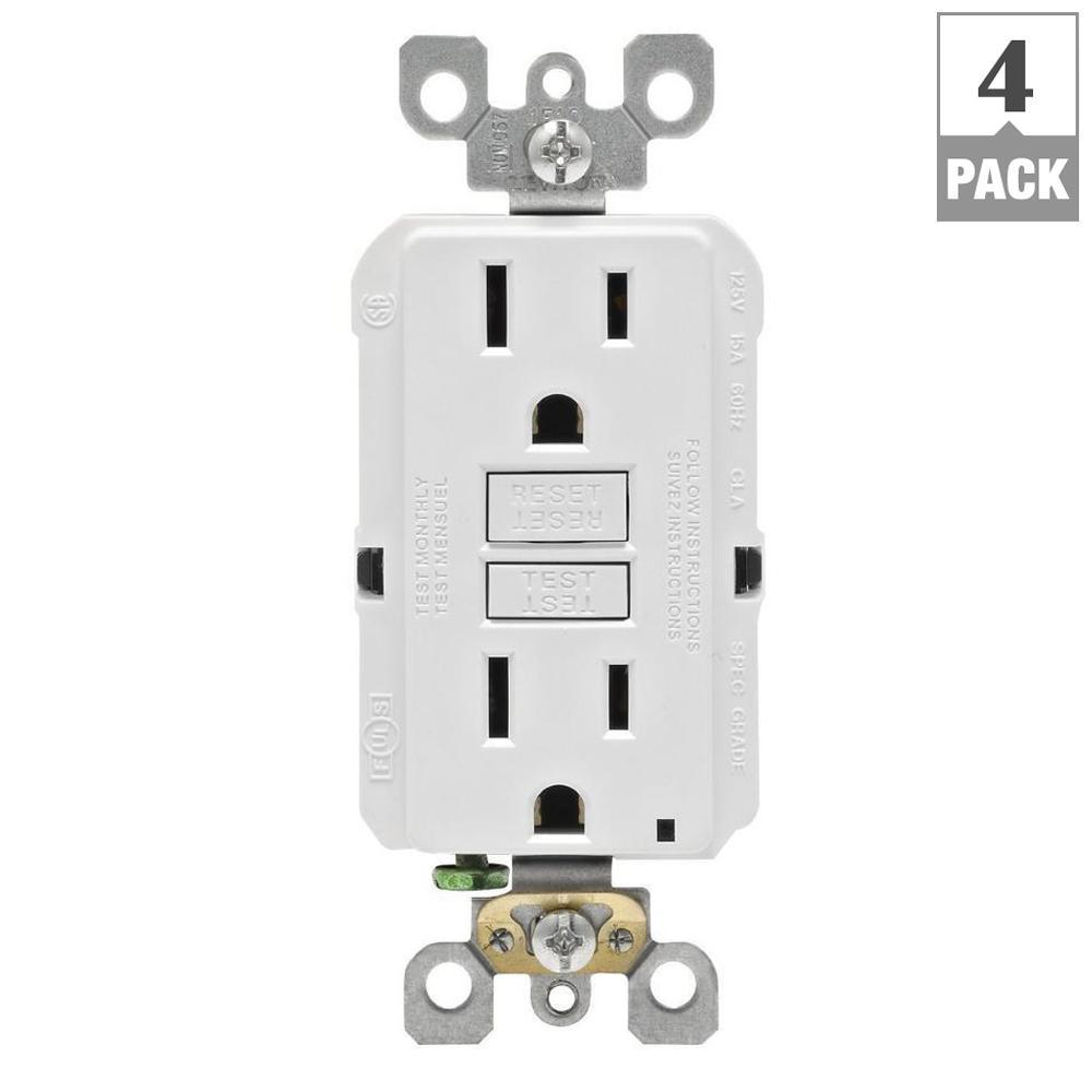 gfci outlet with switch wiring diagram raccoon skeleton leviton 15 amp self test smartlockpro slim duplex white this review is from 125 volt 4 pack