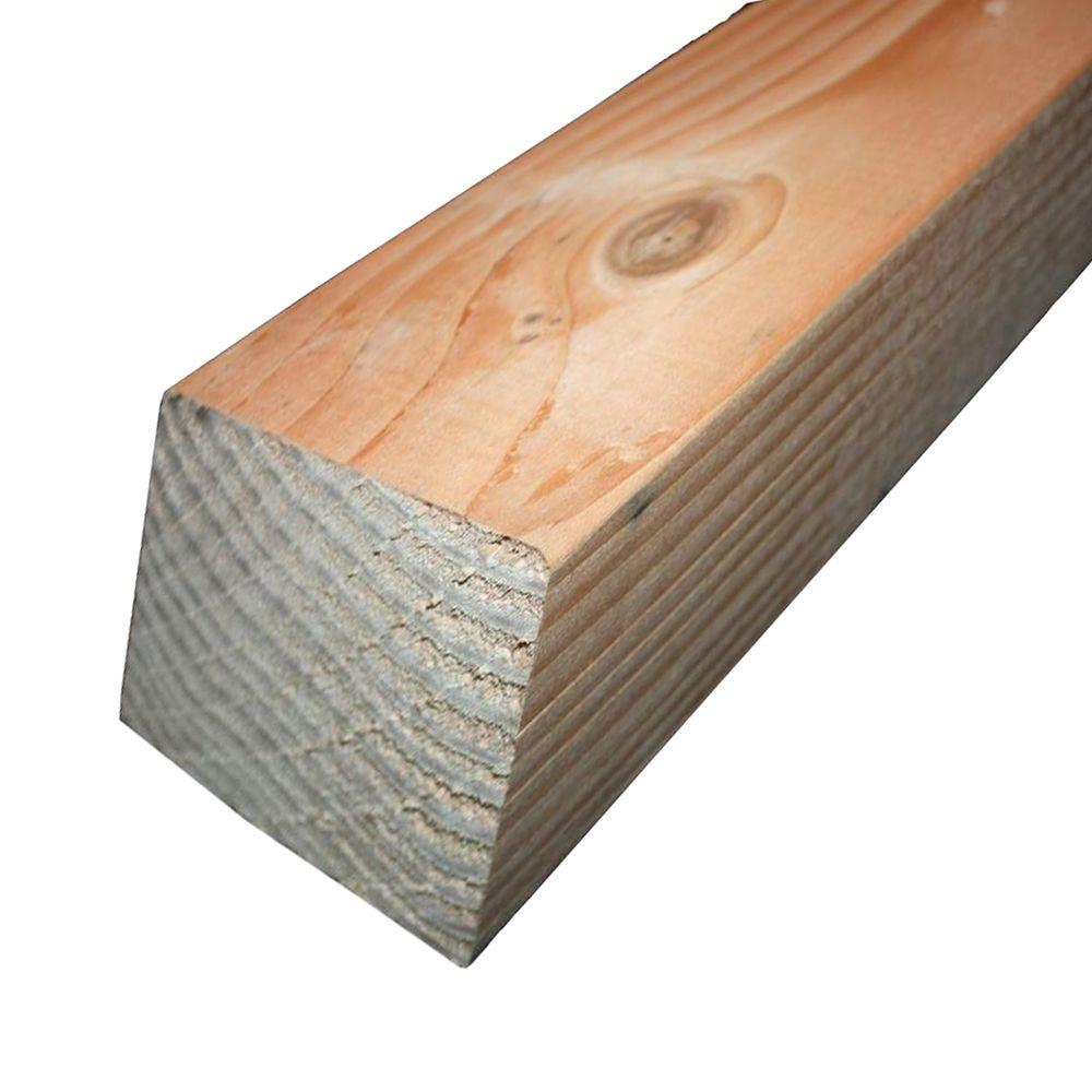 Untreated 4×4 Wood