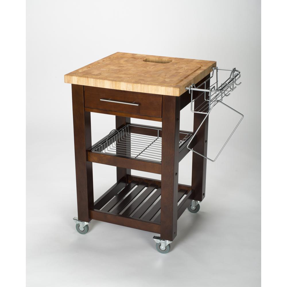 kitchen work station islands clearance chris pro chef espresso cart with storage jet1226