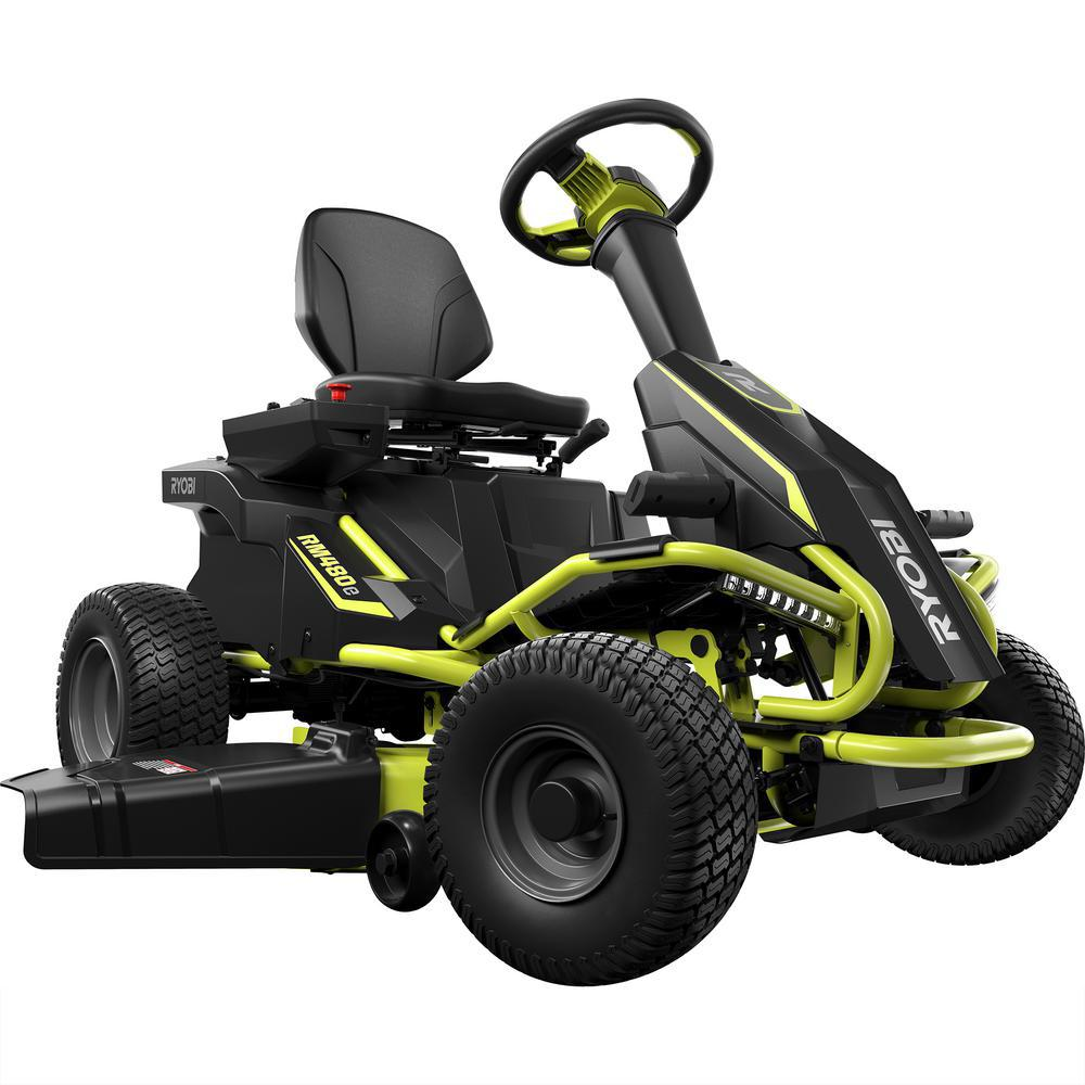 hight resolution of 75 ah battery electric rear engine riding lawn mower