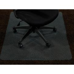 Carpet Chair Mats Herman Miller Caper Ottomanson Super Grip Clear 30 In X 48 Vinyl Mat