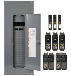 square d homeline 200 amp 40 space 80 circuit indoor main breaker plug  [ 1000 x 1000 Pixel ]
