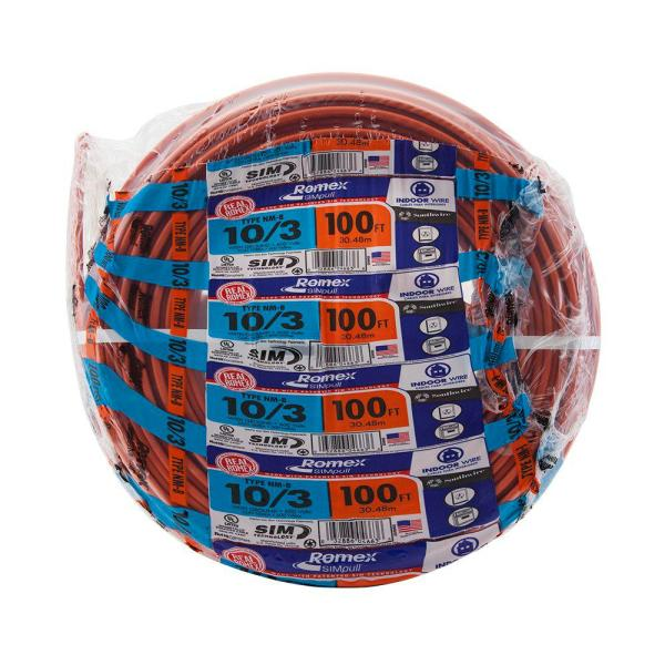 Southwire 100 Ft. 12 White Solid Cu Thhn Wire-11588138 - Home Depot