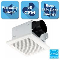 NuTone InVent Series 50 CFM Ceiling Bathroom Exhaust Fan ...