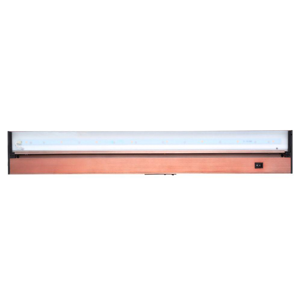 Juno ProSeries 30 in Brushed Bronze LED Under Cabinet