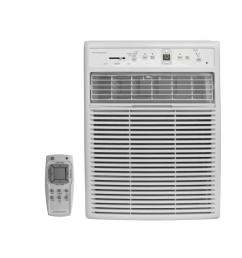 frigidaire 10 000 btu casement window air conditioner with remote [ 1000 x 1000 Pixel ]