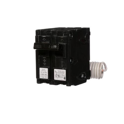 small resolution of 15 amp single pole type qp circuit breaker with 120 volt shunt trip